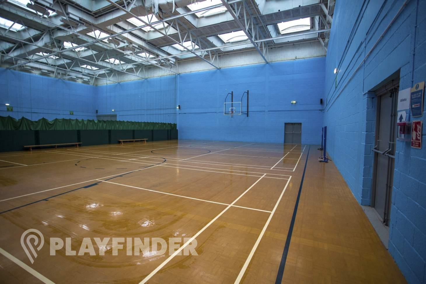 Finsbury Leisure Centre Indoor basketball court