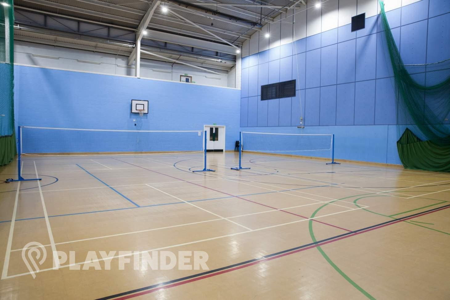 Burnt Oak Leisure Centre Indoor basketball court
