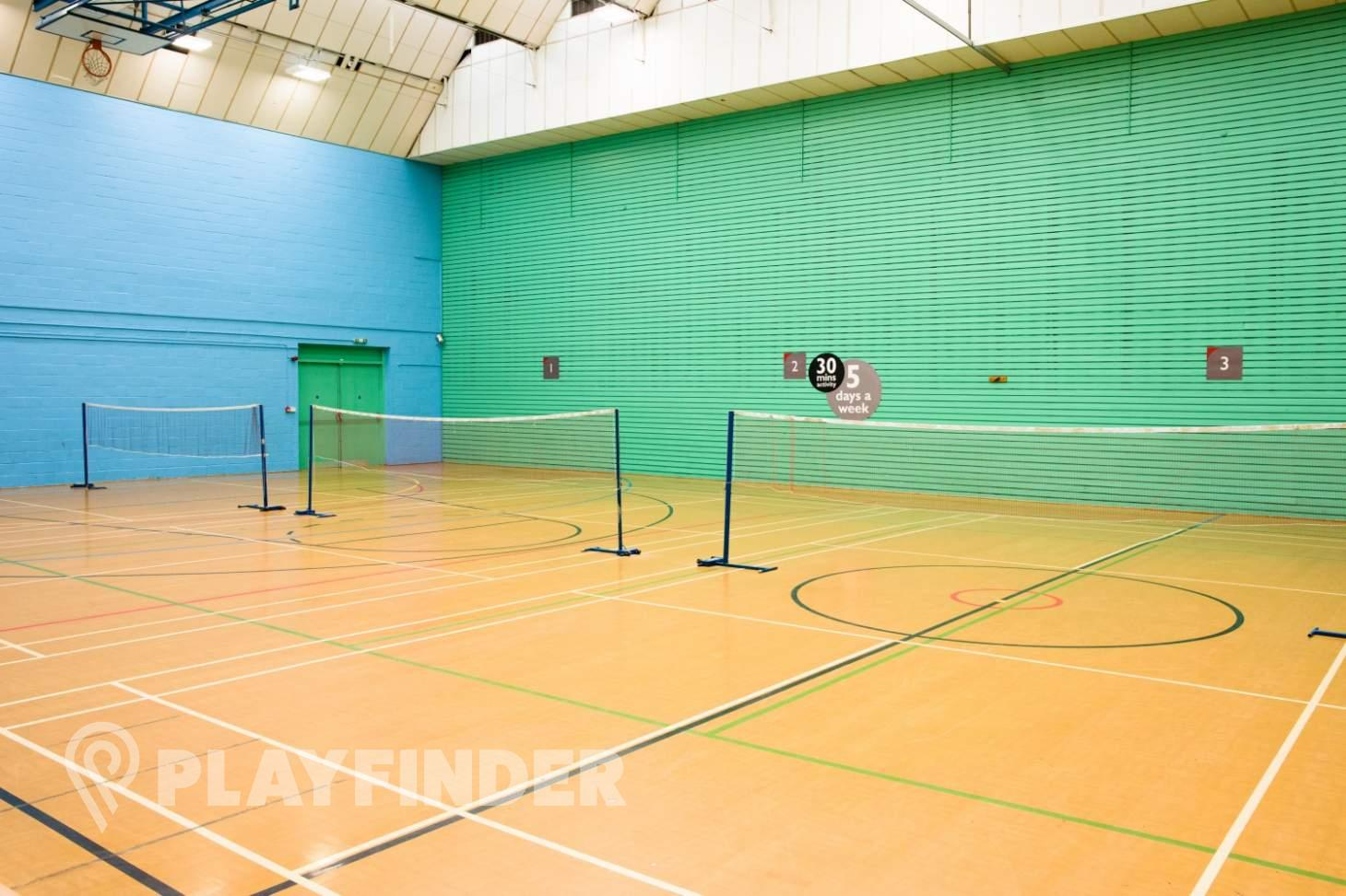 Vale Farm Sports Centre Indoor | Hard badminton court
