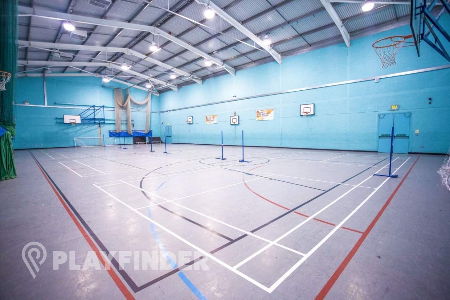 Welling School Indoor | Hard badminton court