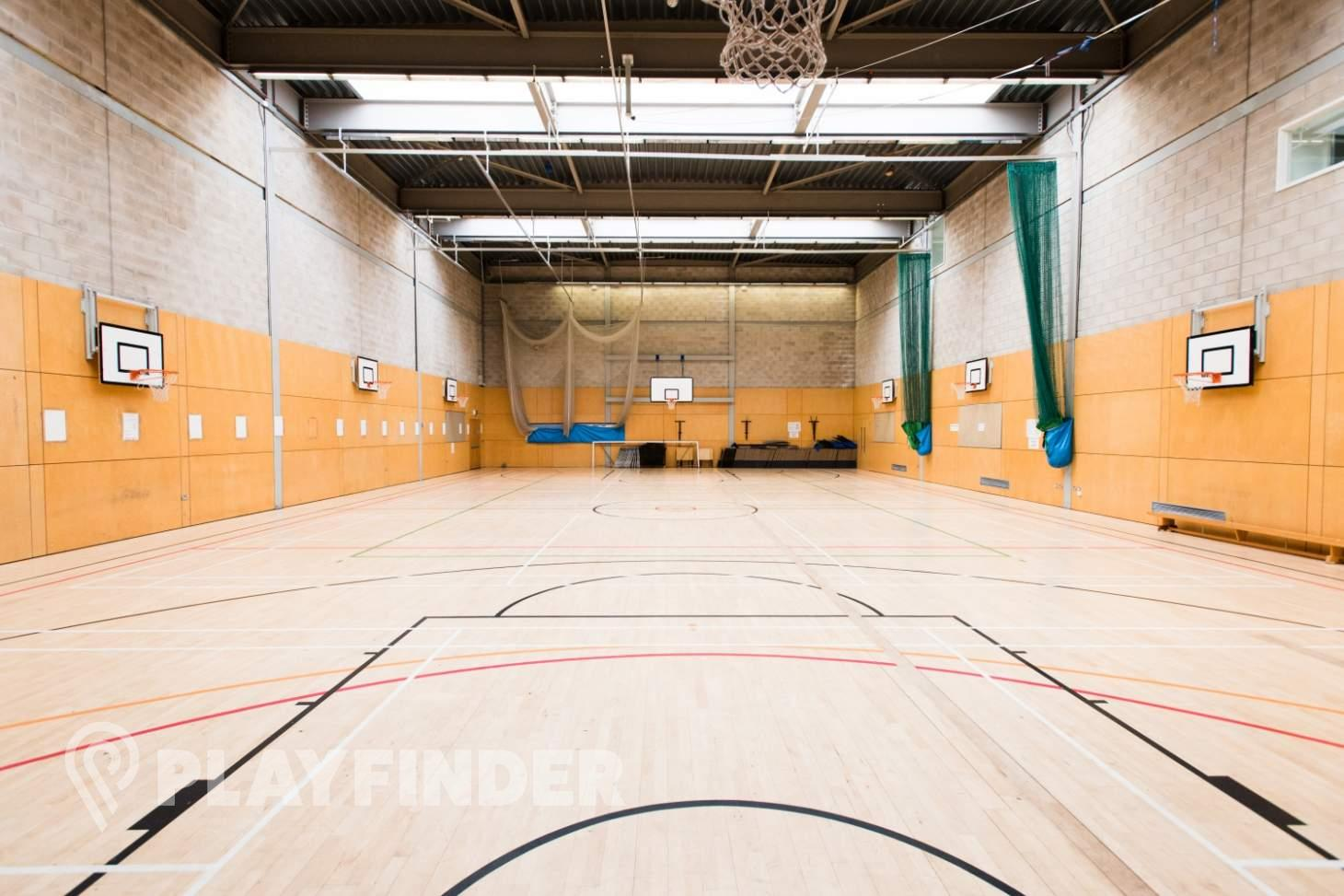Haverstock School Indoor | Hard badminton court