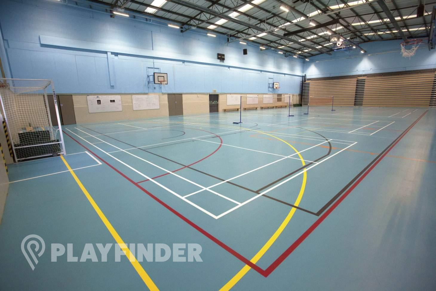 Sylvestrian Leisure Centre Indoor | Hard badminton court