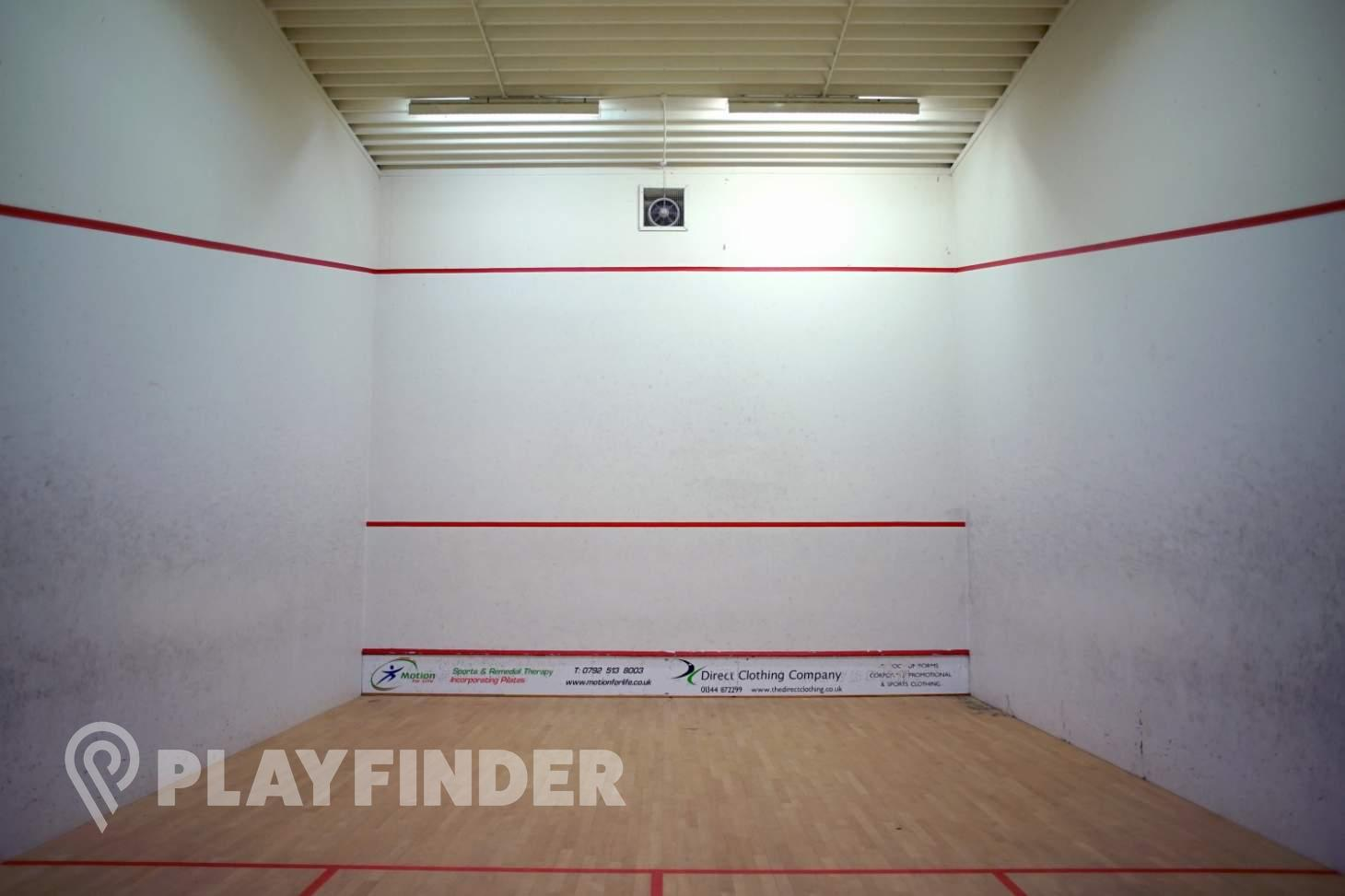 Charters Leisure Centre Indoor | Hard squash court
