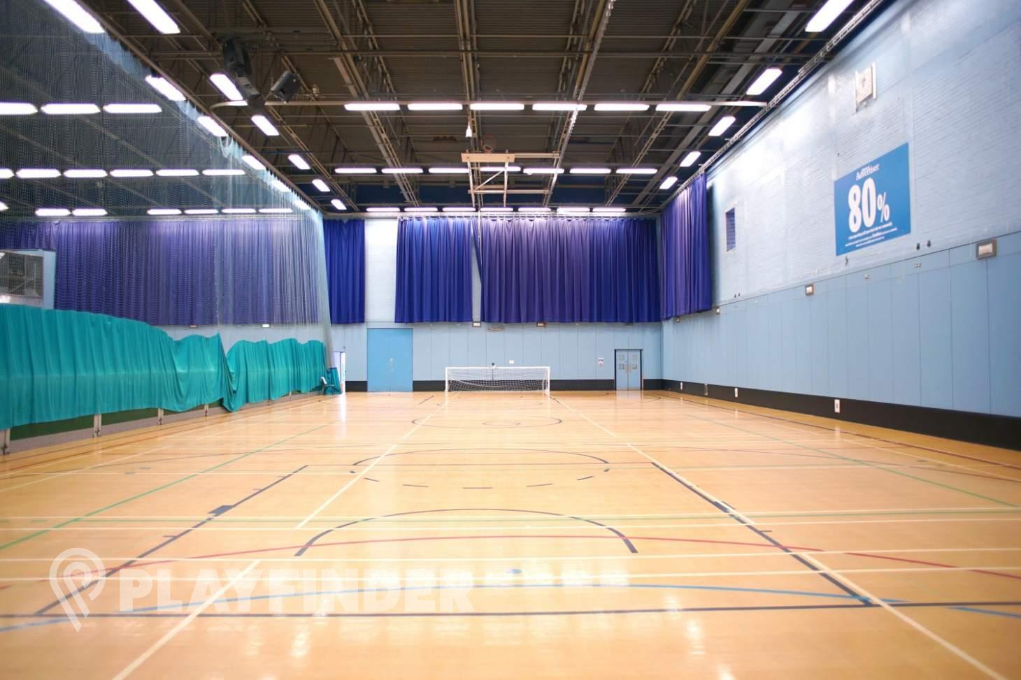 Magnet Leisure Centre Indoor basketball court