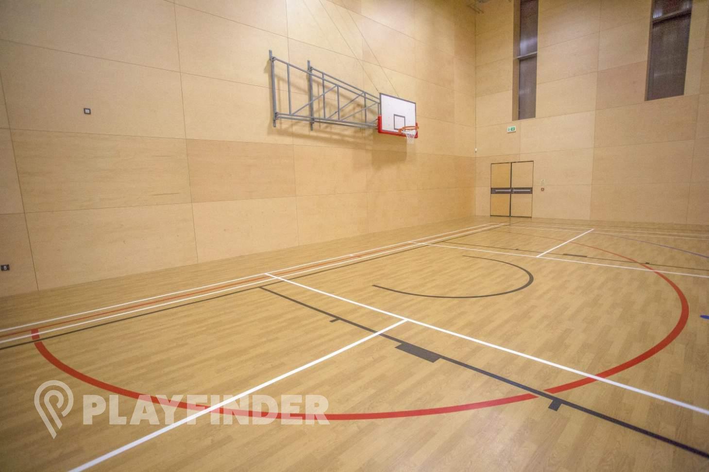 Harris Academy Bromley Indoor basketball court