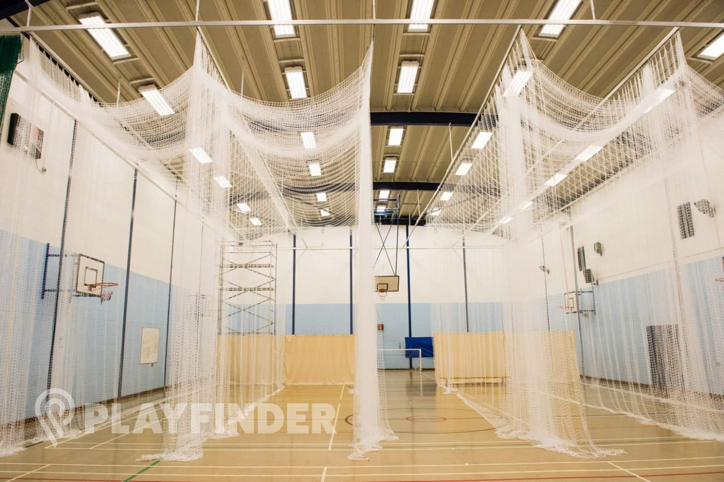 Featherstone Sports Centre Nets | Sports hall cricket facilities