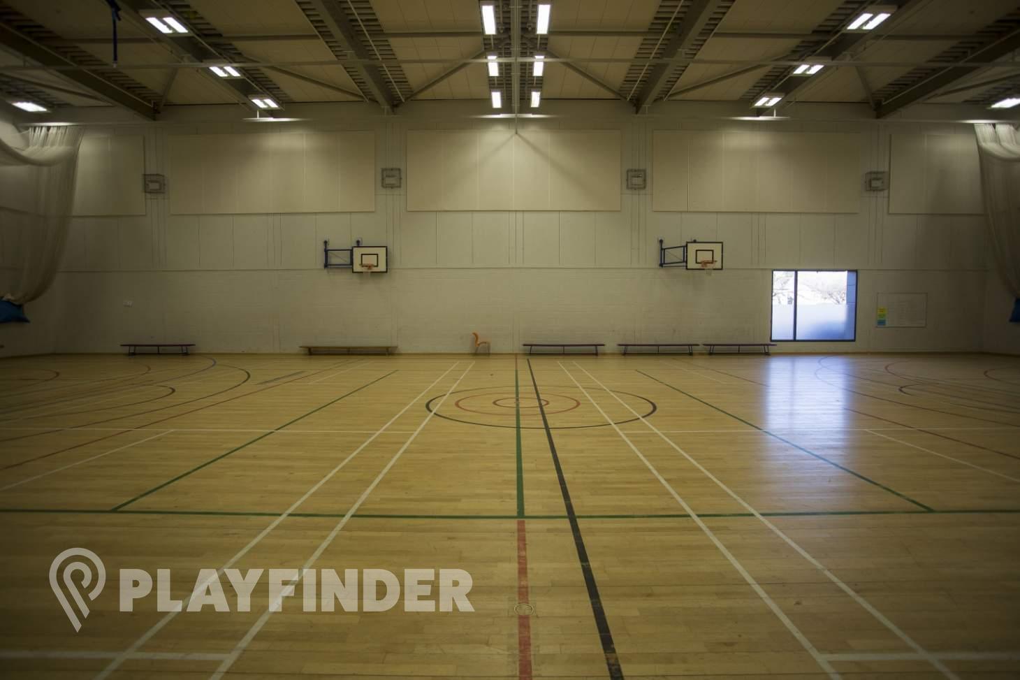 Chalk Hills Academy Indoor   Hard badminton court