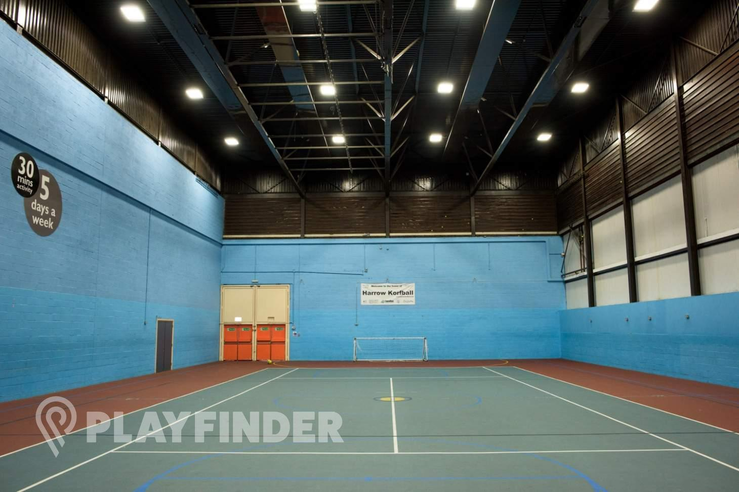 Harrow Leisure Centre Indoor futsal pitch