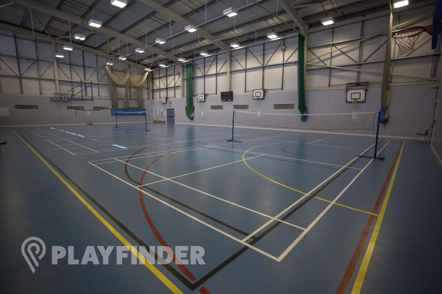 Oaks Park High School Indoor basketball court