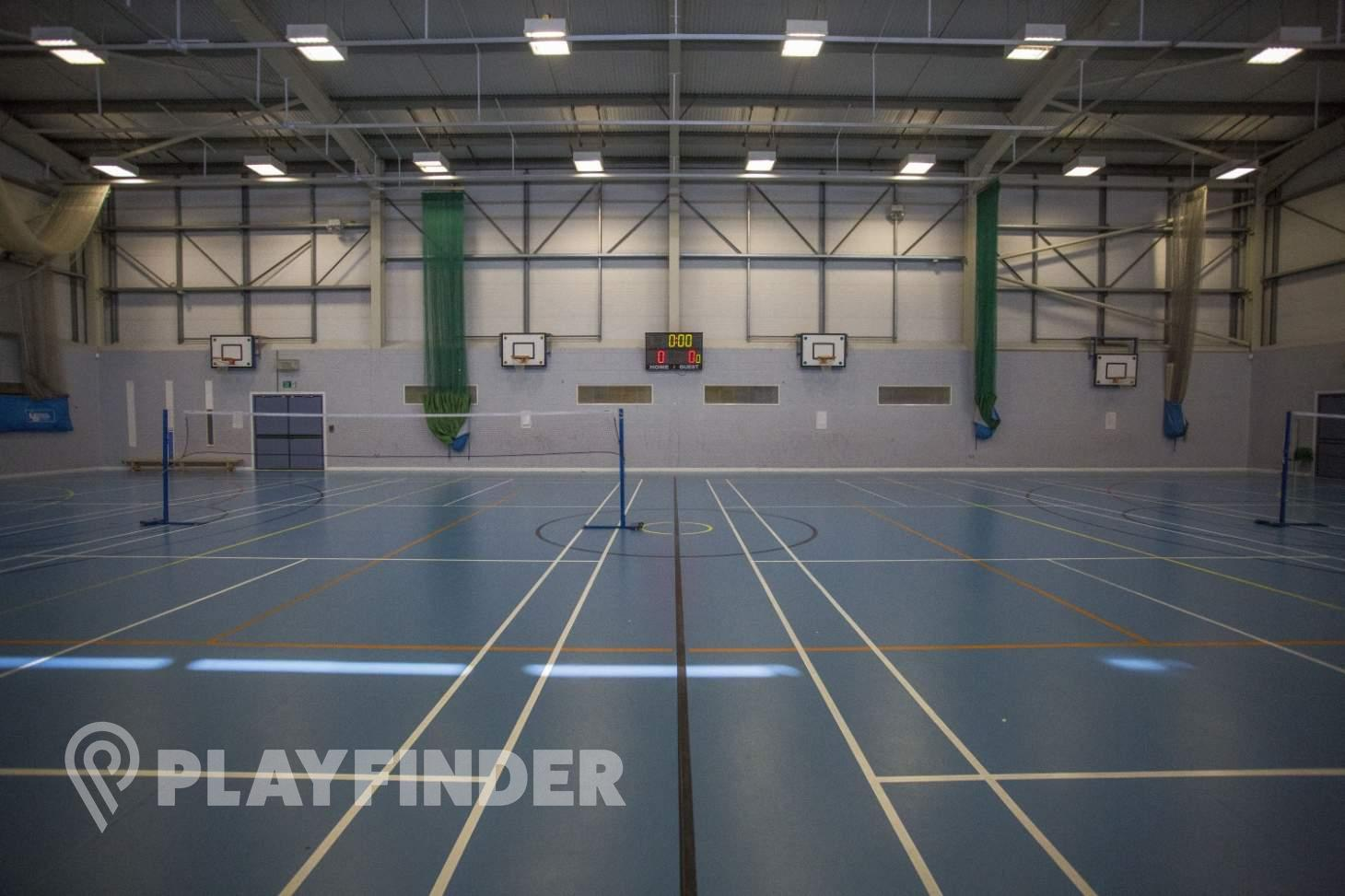 Oaks Park High School Indoor netball court