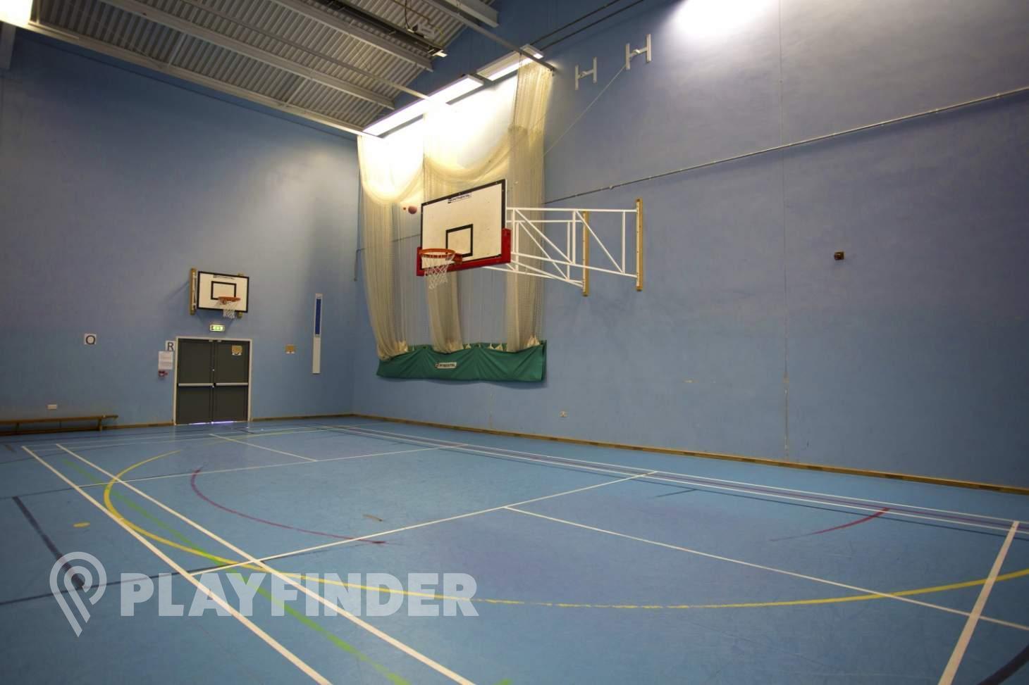 Harris Academy Greenwich Indoor netball court
