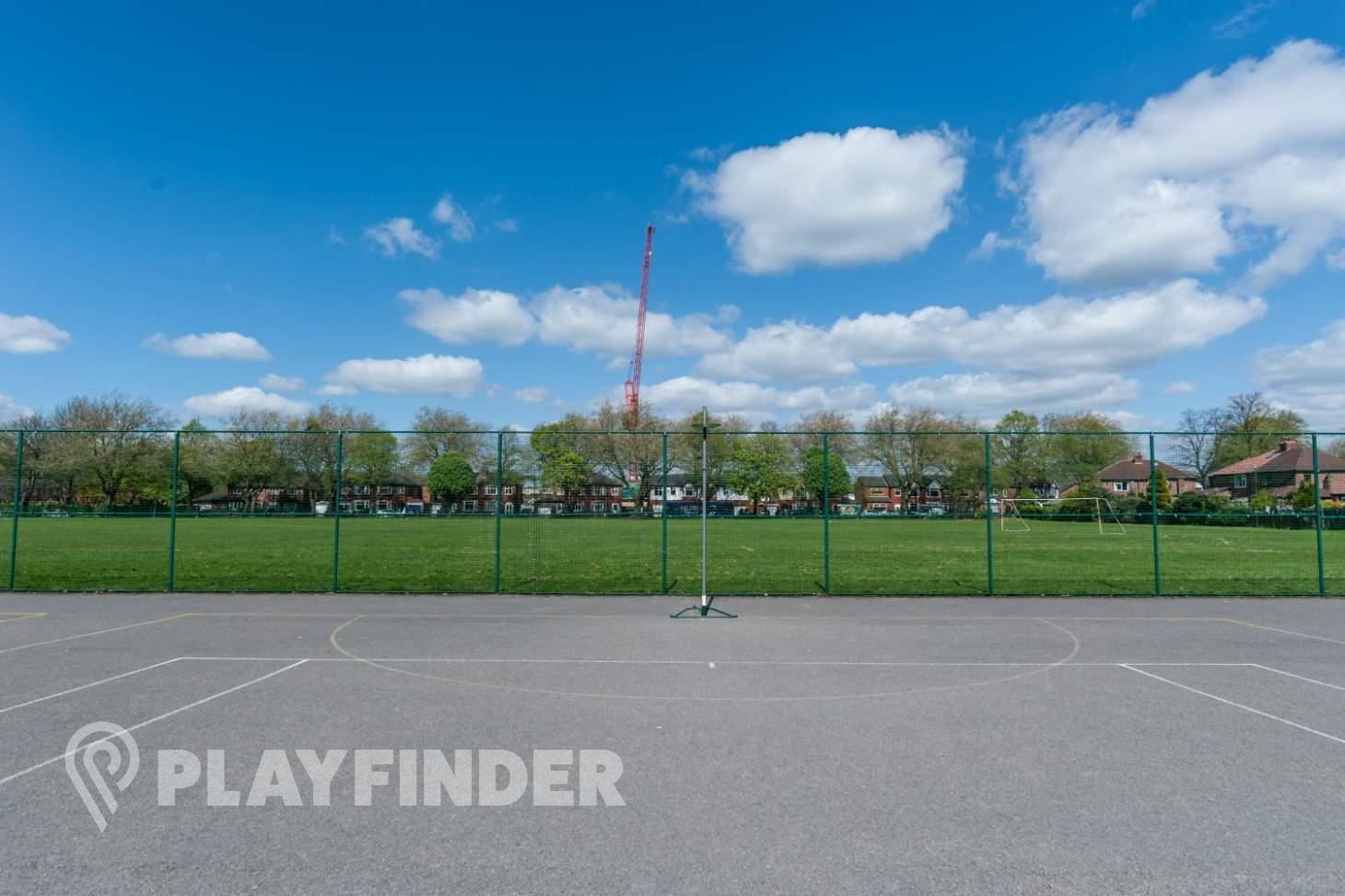 Flixton Girls School Outdoor | Concrete netball court