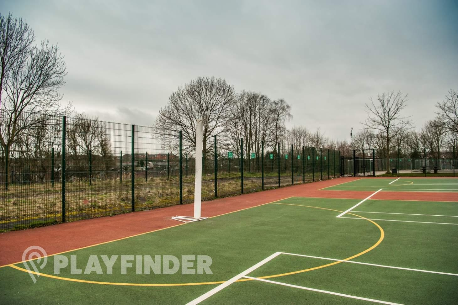 Abraham Moss Community School Outdoor   Hard (macadam) netball court