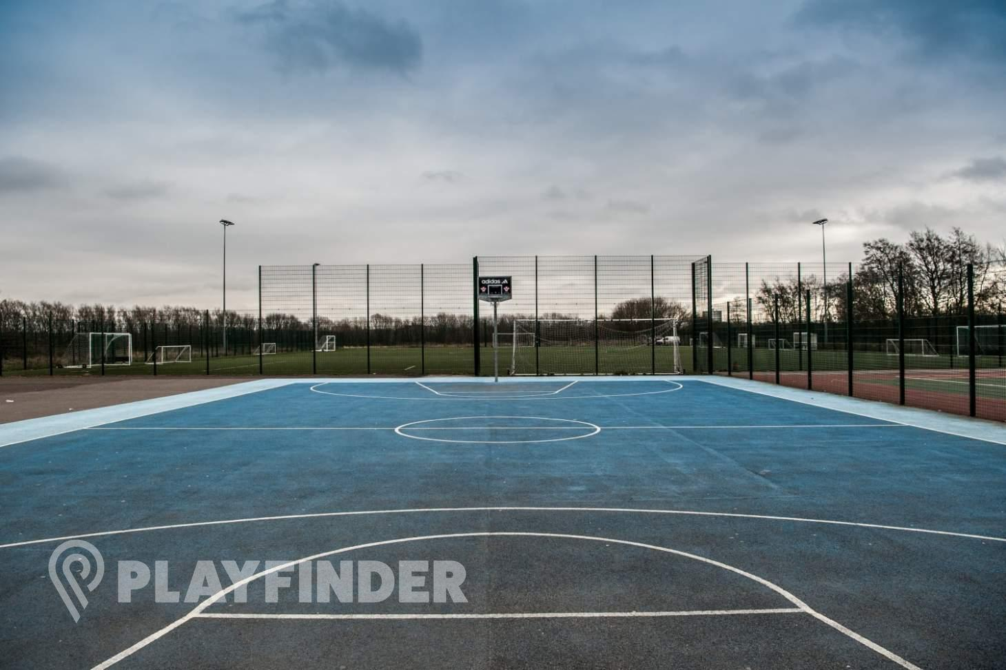 Abraham Moss Community School Outdoor | Hard (macadam) basketball court
