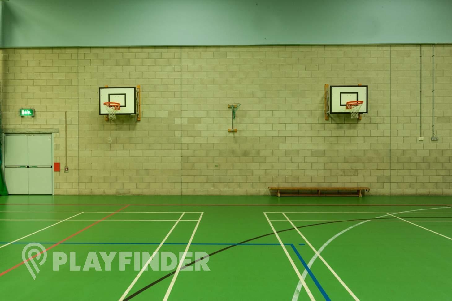 Chorlton High School Indoor basketball court
