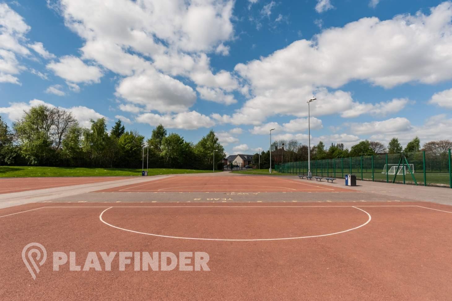 Chorlton High School Outdoor | Hard (macadam) netball court