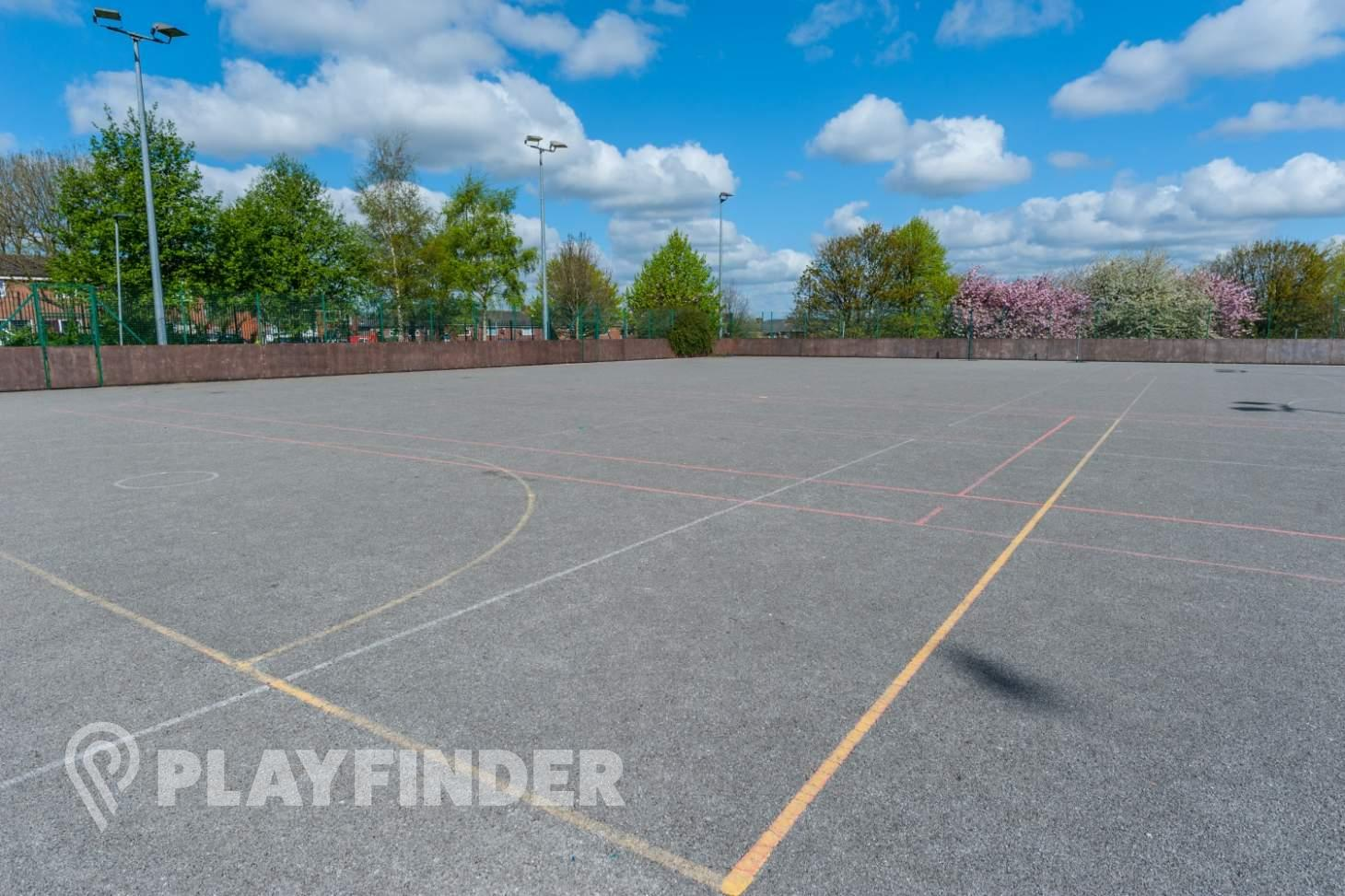 The Albion Academy Outdoor | Concrete tennis court