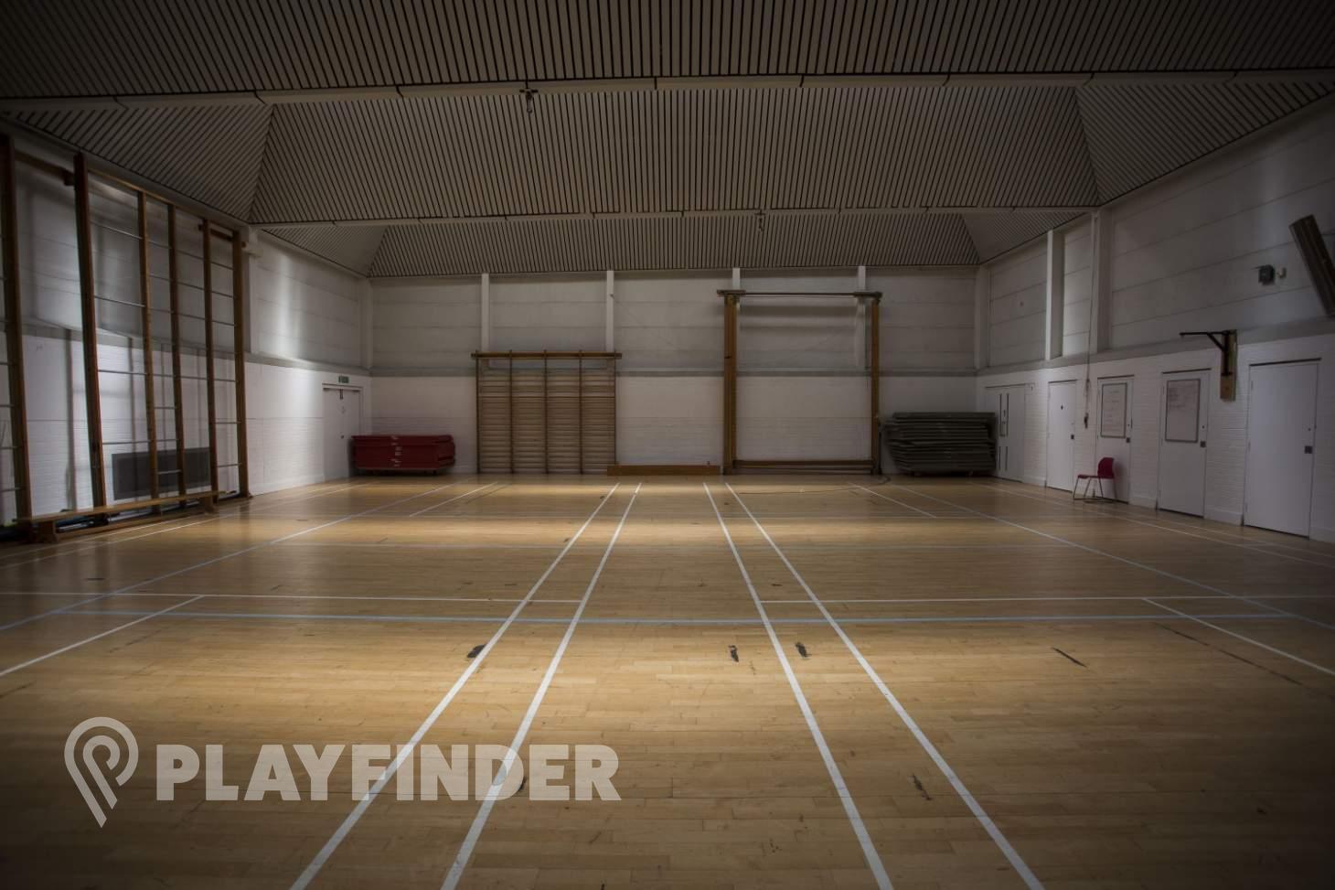 Acland Burghley School Indoor | Hard badminton court
