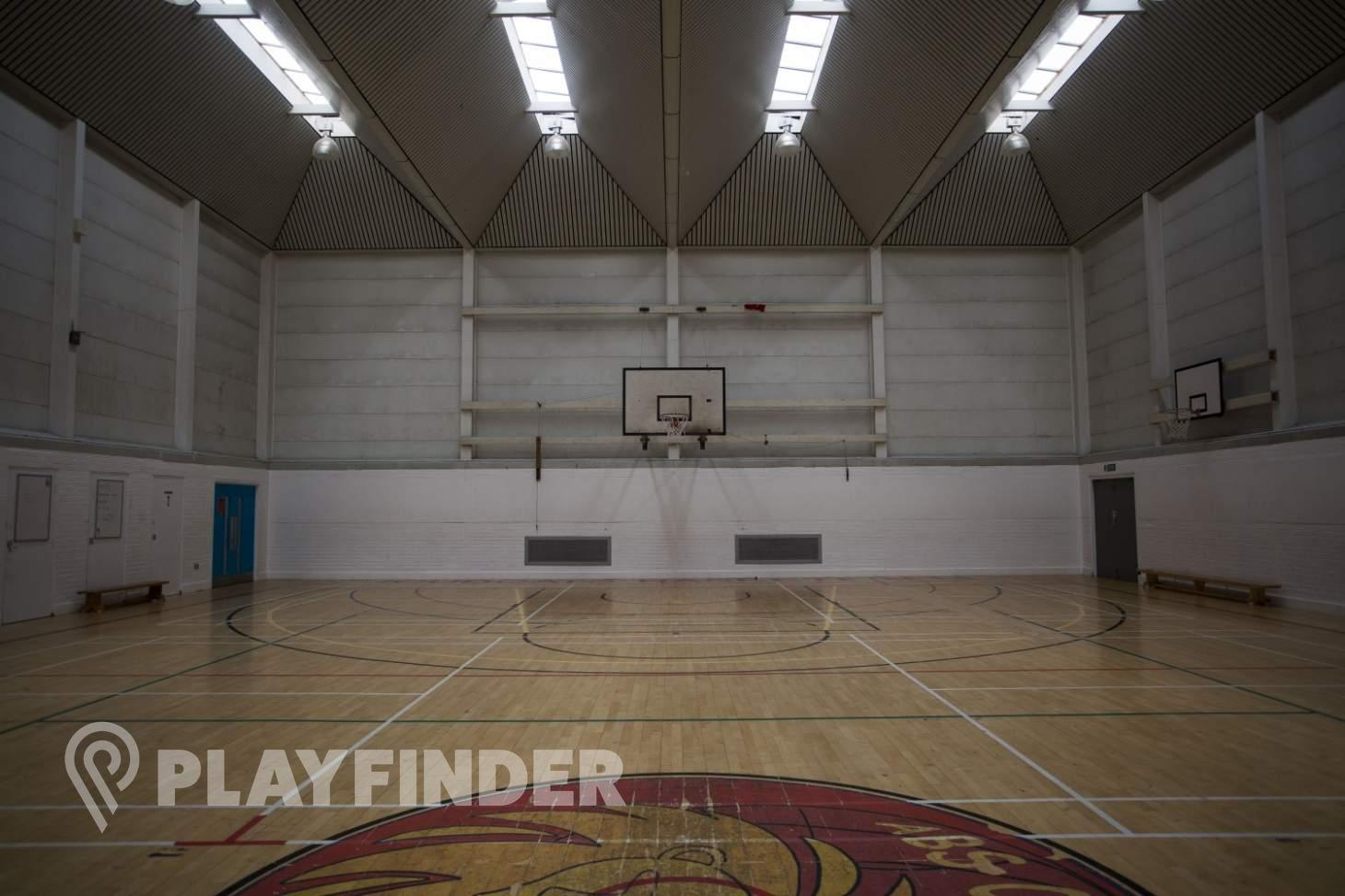 Acland Burghley School Indoor basketball court