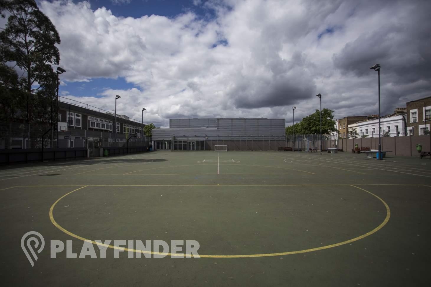 Acland Burghley School 5 a side | Concrete football pitch
