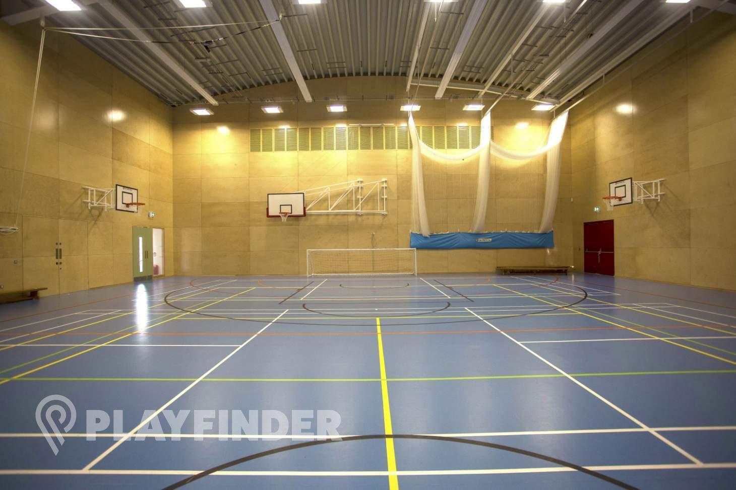 Ark Putney Academy Indoor   Hard badminton court