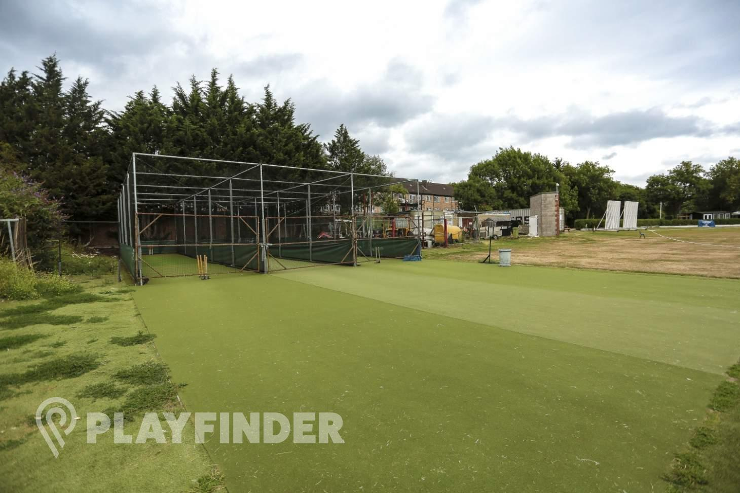 Indian Gymkhana Club Nets | Artificial cricket facilities