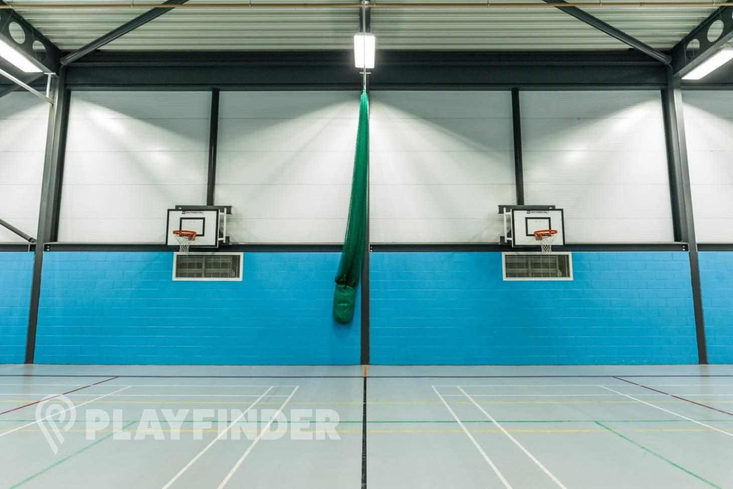 The Energy Box Indoor basketball court