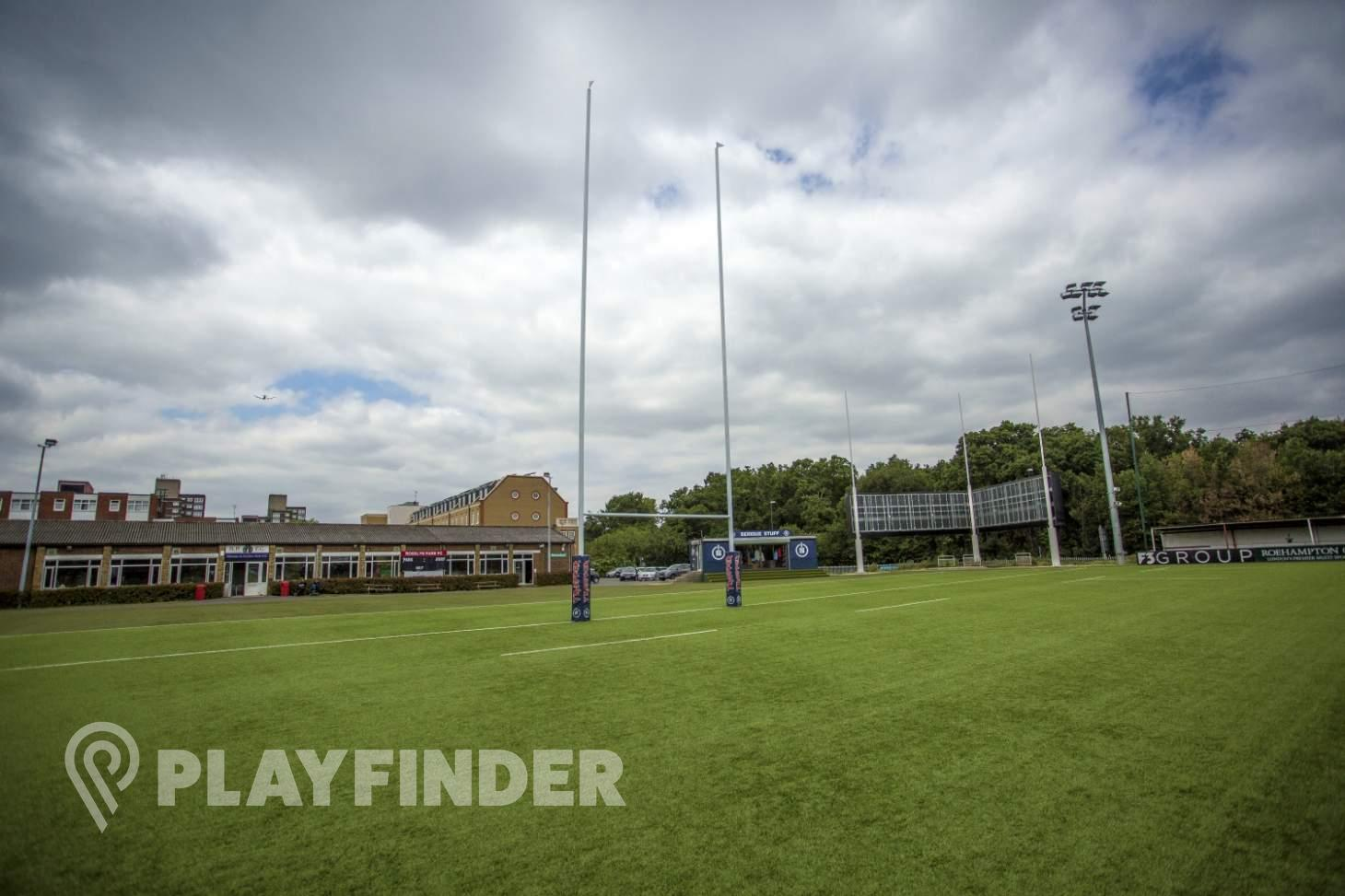Rosslyn Park Rugby Club Union | 3G Astroturf rugby pitch