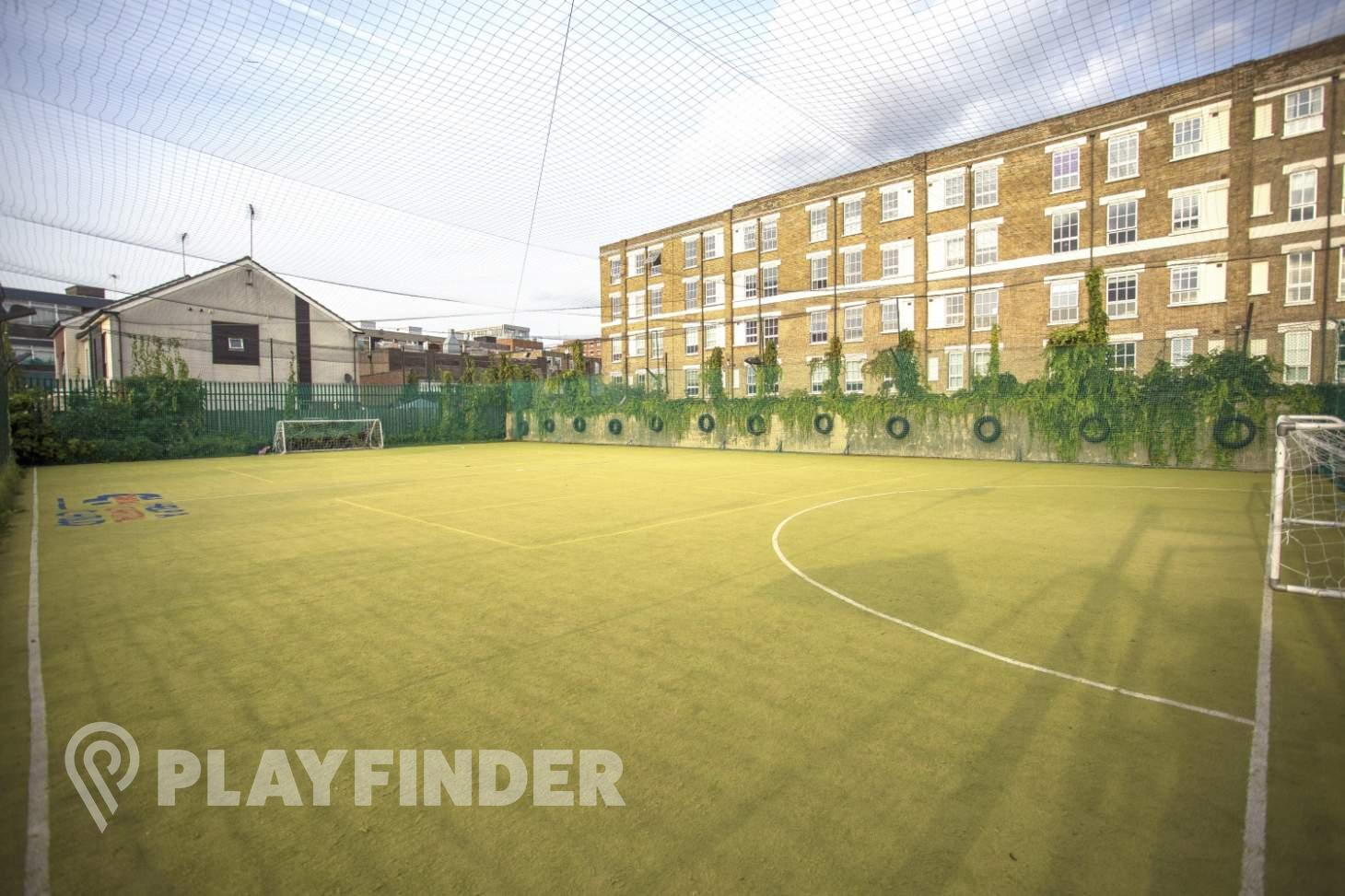 Weavers Adventure Playground 5 a side | Astroturf football pitch