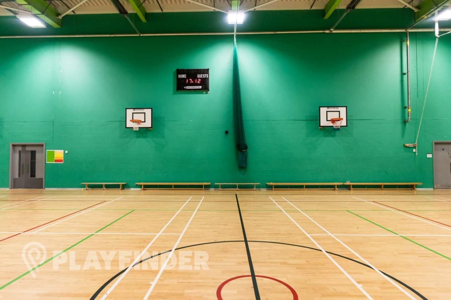 East Manchester Academy Indoor | Hard badminton court