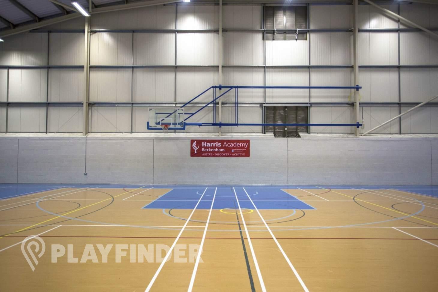 Harris Academy Beckenham Indoor basketball court