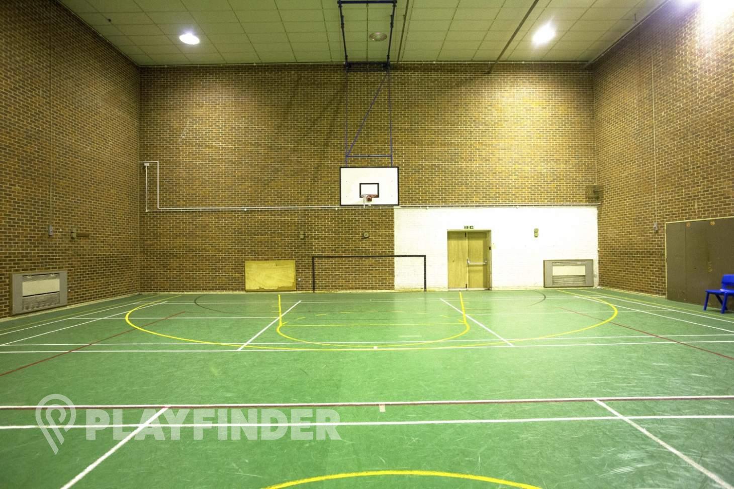 Christ's College Finchley Indoor   Hard badminton court