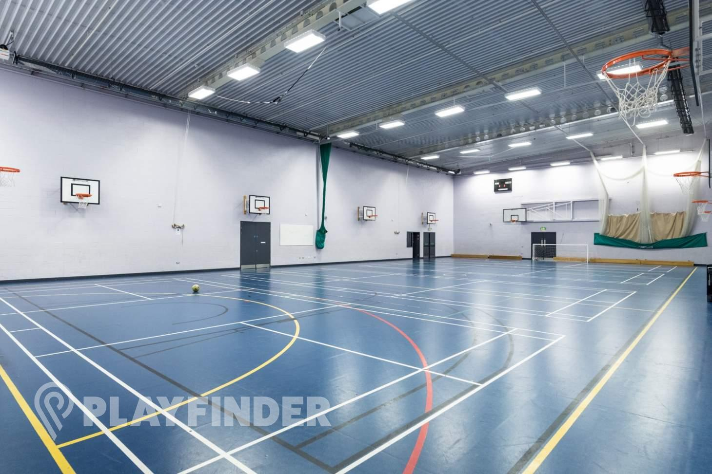 Buile Hill School Indoor basketball court