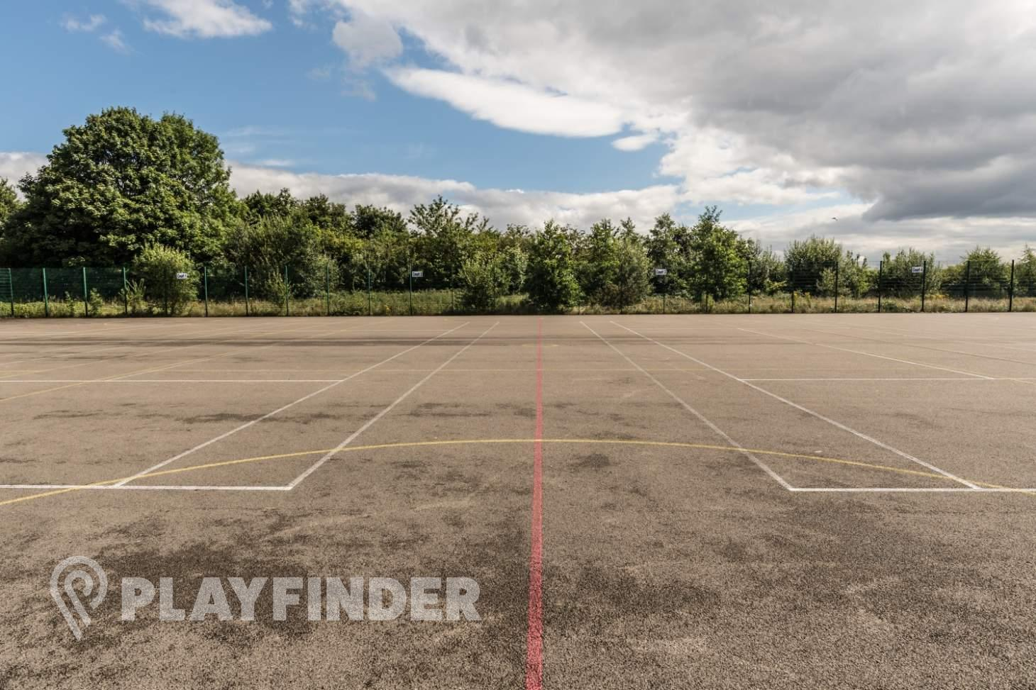 Harrop Fold School Outdoor | Concrete netball court