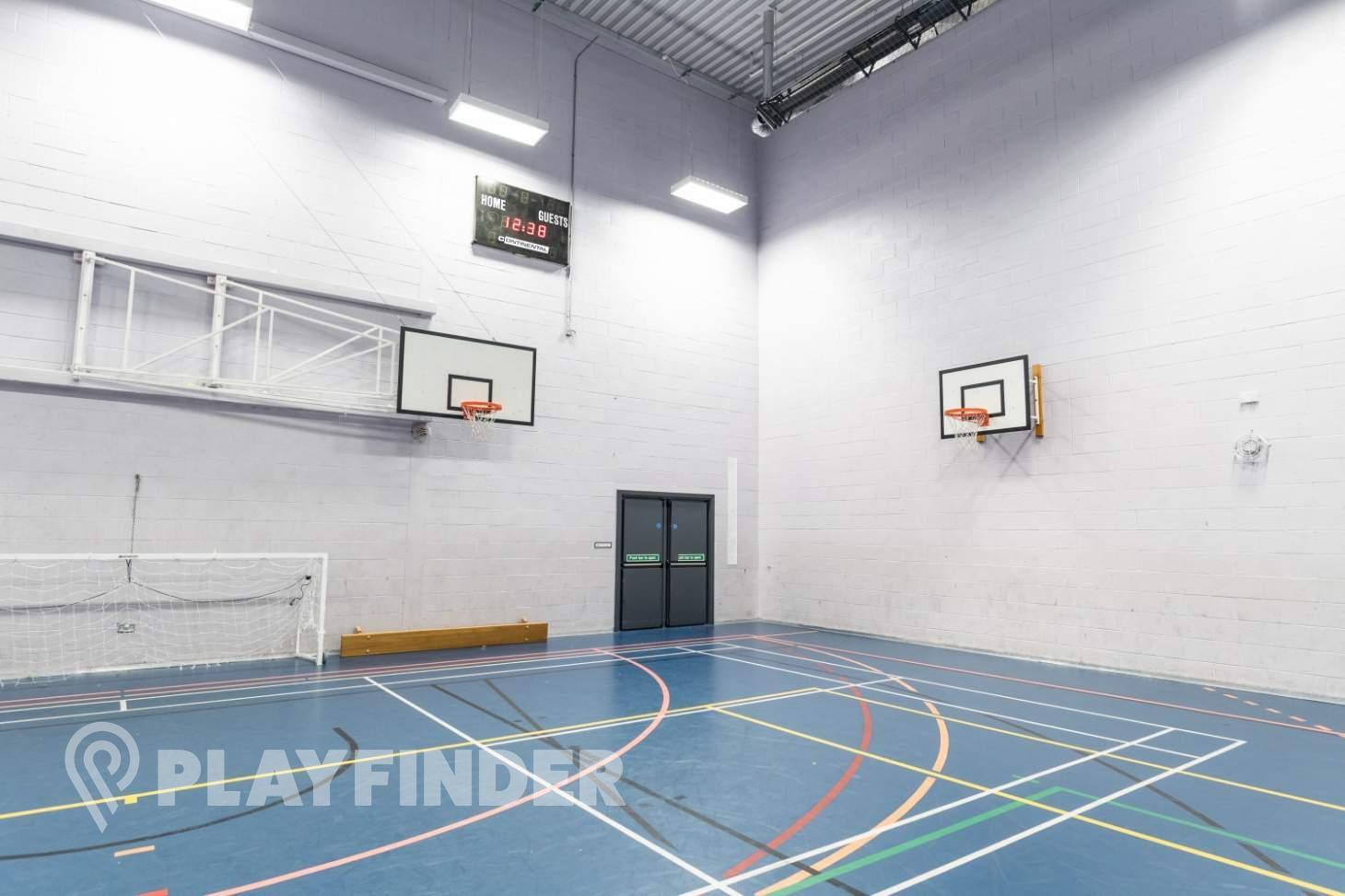 Harrop Fold School Indoor basketball court