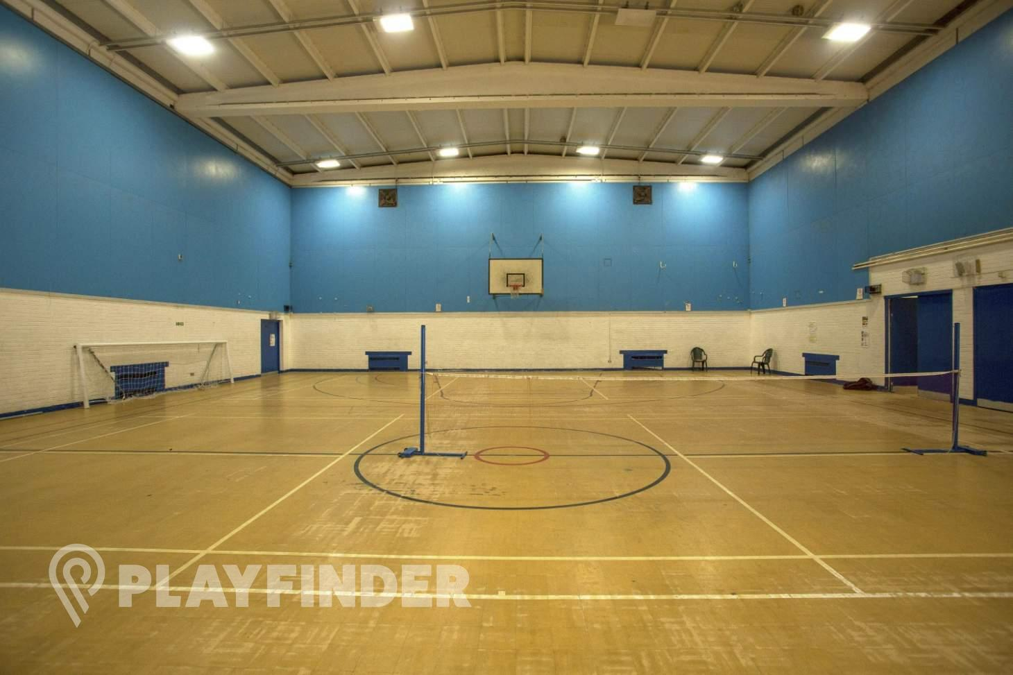 Carpenters and Docklands Centre Indoor netball court