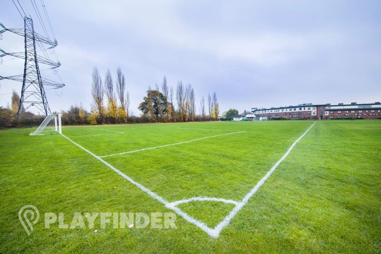 Britannia Playing Fields 11 a side   Grass football pitch