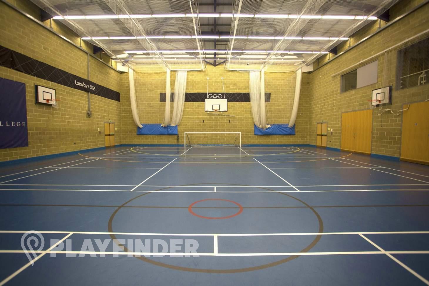 Eric Liddell Sports Centre Nets | Sports hall cricket facilities