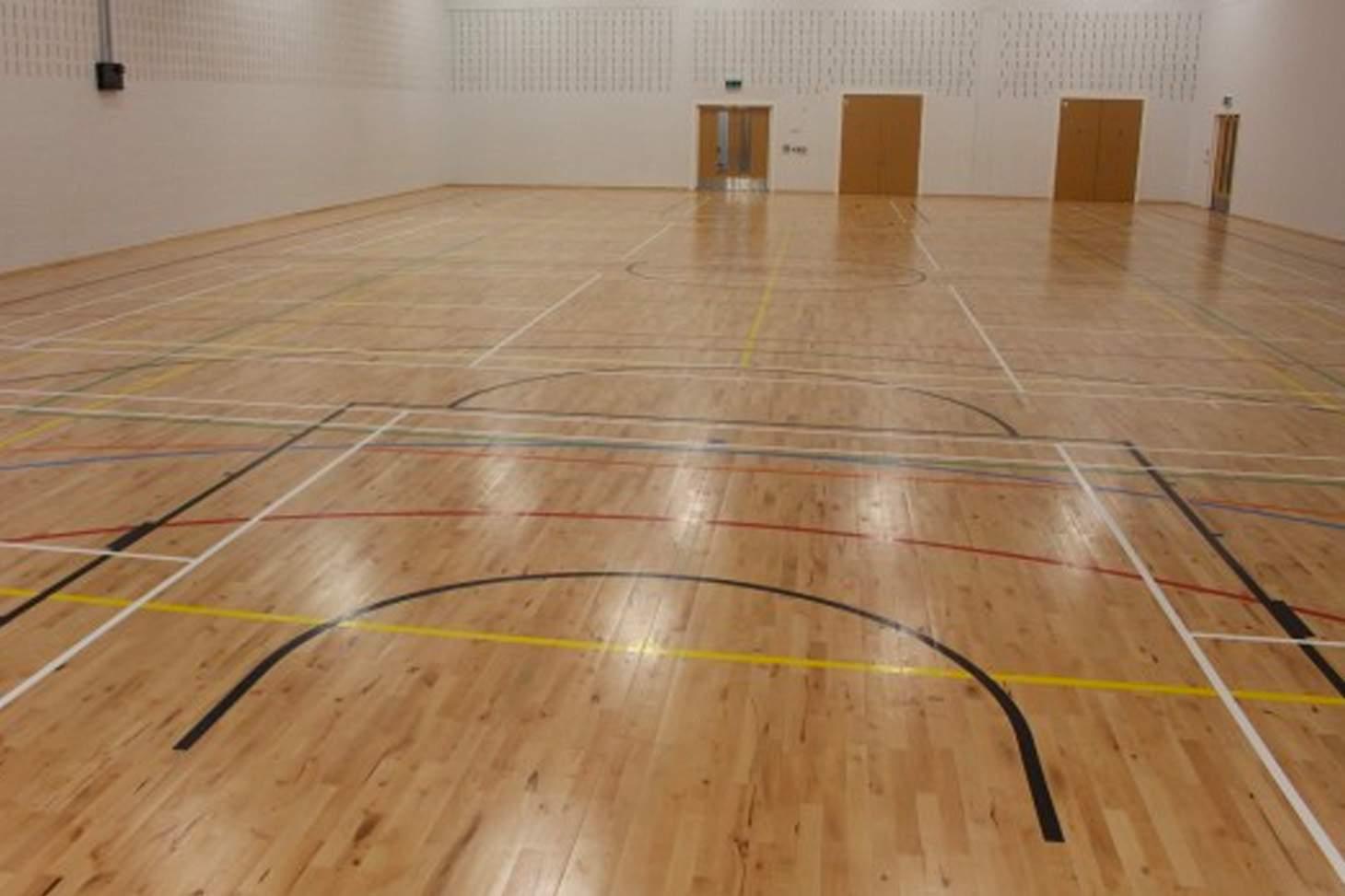 Kensington Primary Academy Indoor | Hard badminton court