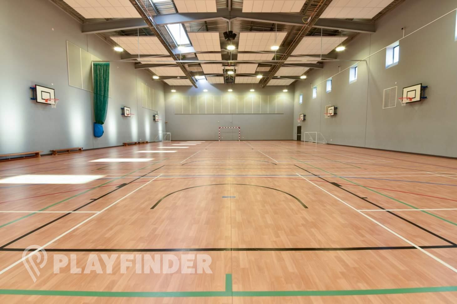 Carshalton High School For Girls Indoor basketball court
