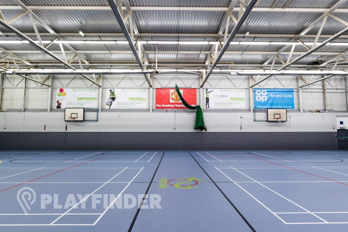 Hazel Grove Sports Centre Indoor basketball court