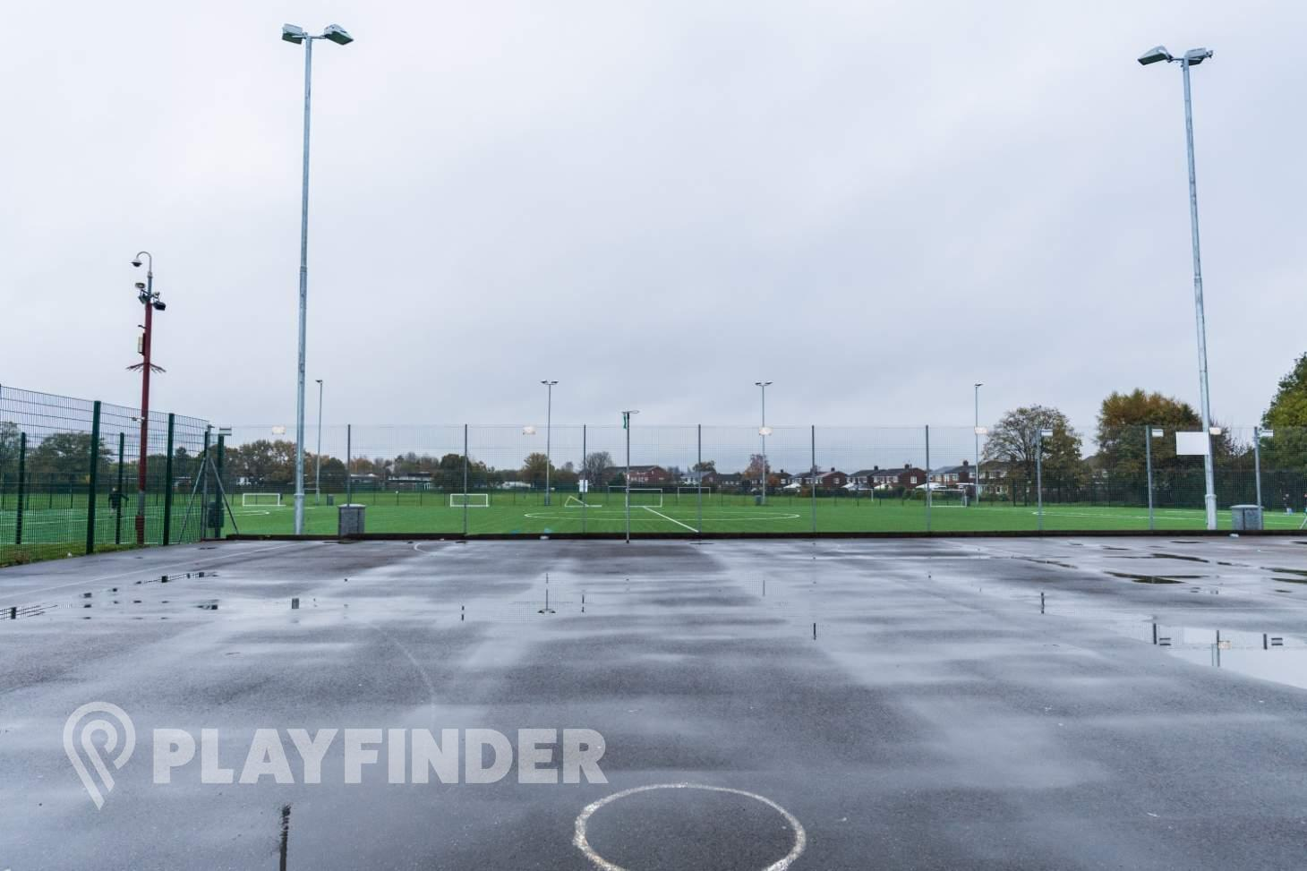 Hazel Grove Sports Centre Outdoor | Concrete netball court