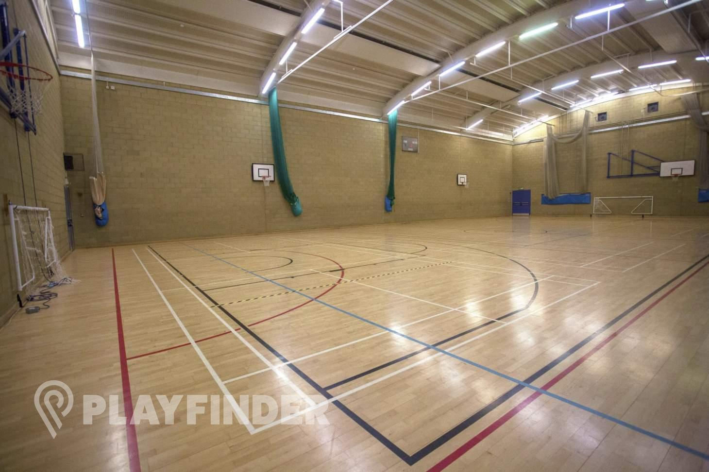 Royal Holloway University Sports Centre Indoor | Hard badminton court