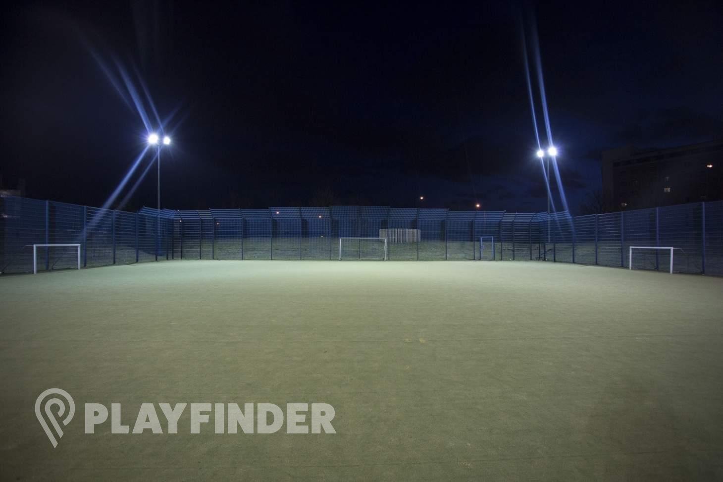 Millennium Primary School Outdoor | Astroturf hockey pitch