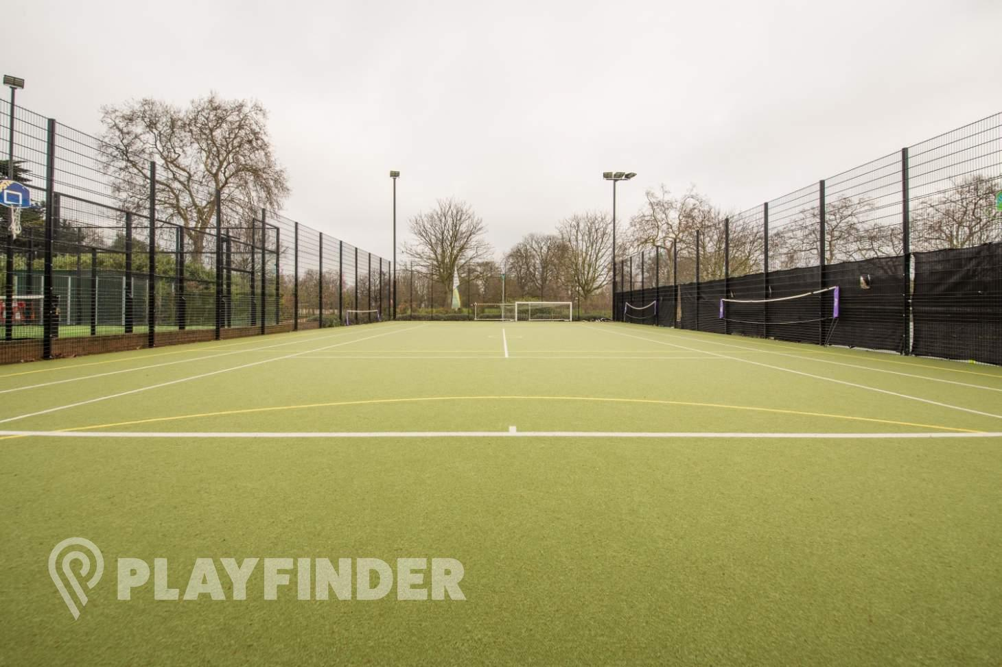Will To Win Hyde Park Outdoor   Astroturf netball court