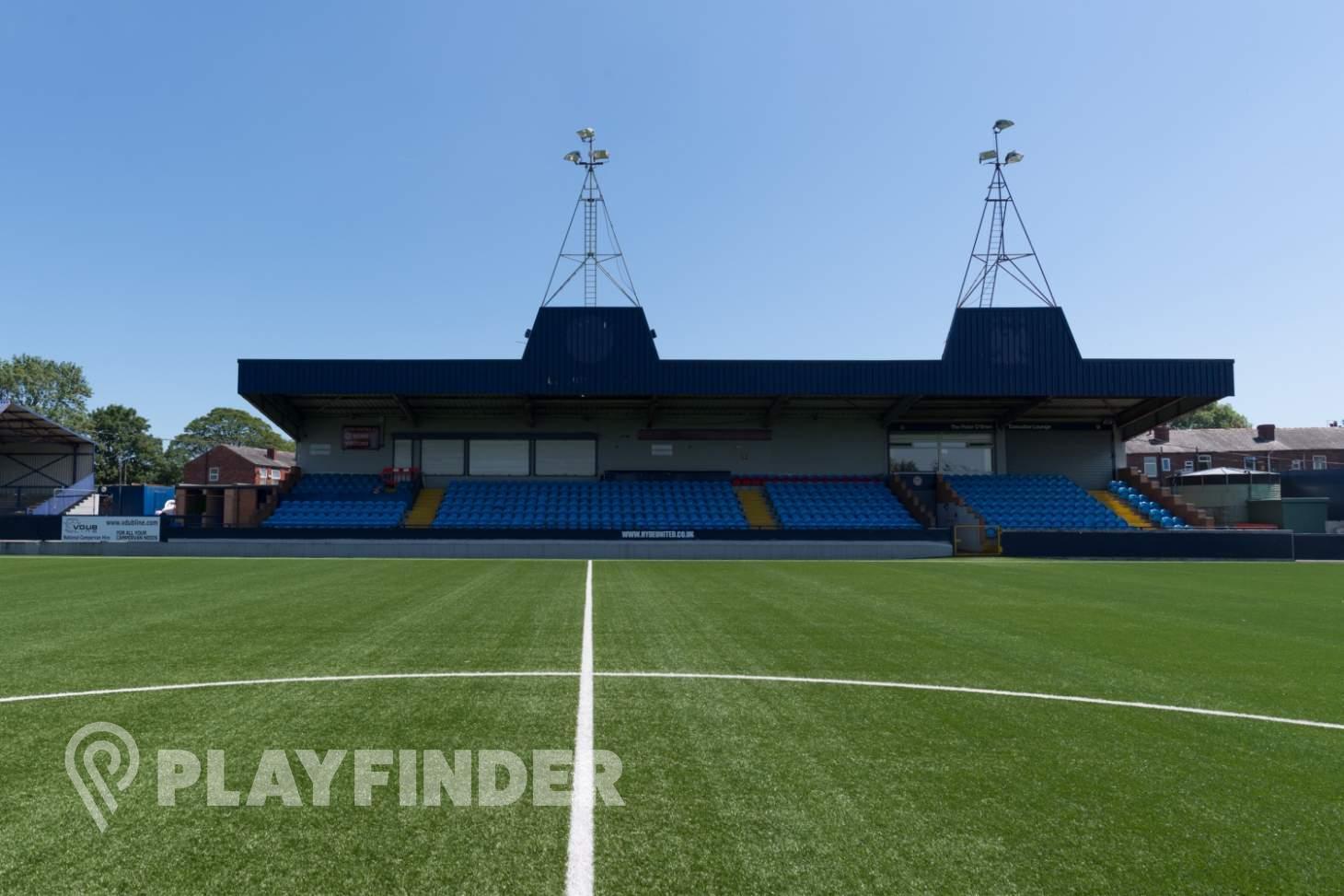Hyde United Football Club 11 a side | 3G Astroturf football pitch