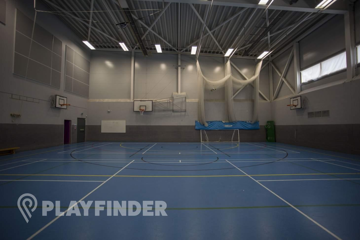 Ark Academy Wembley Court | Sports hall volleyball court
