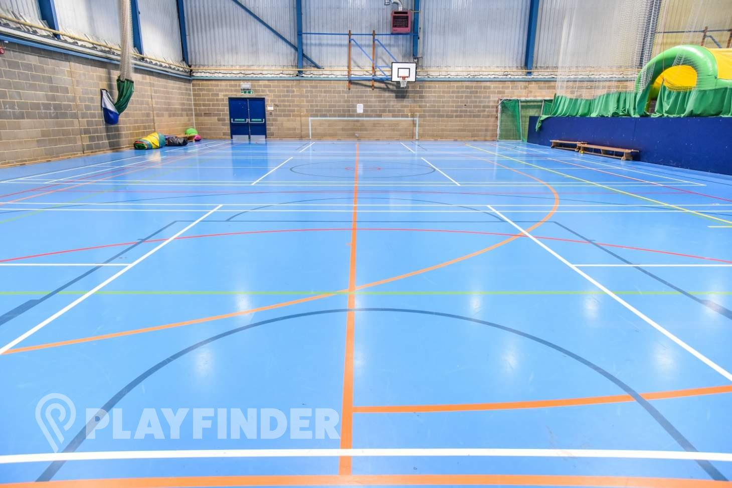 Aldenham School Sports Centre Indoor basketball court