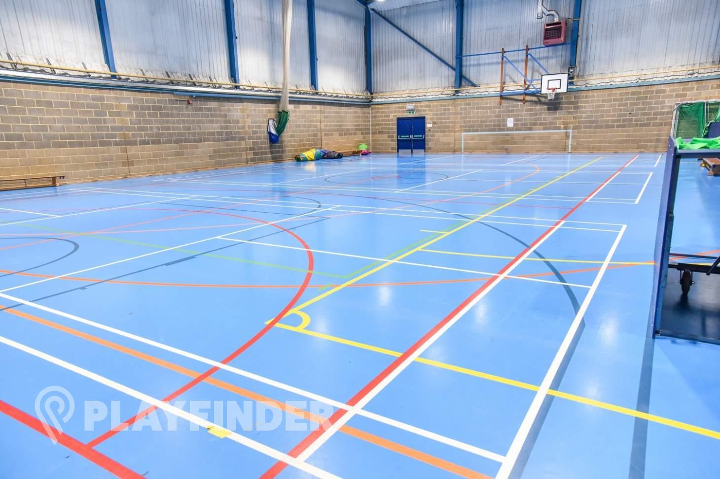 Aldenham School Sports Centre Indoor hockey pitch