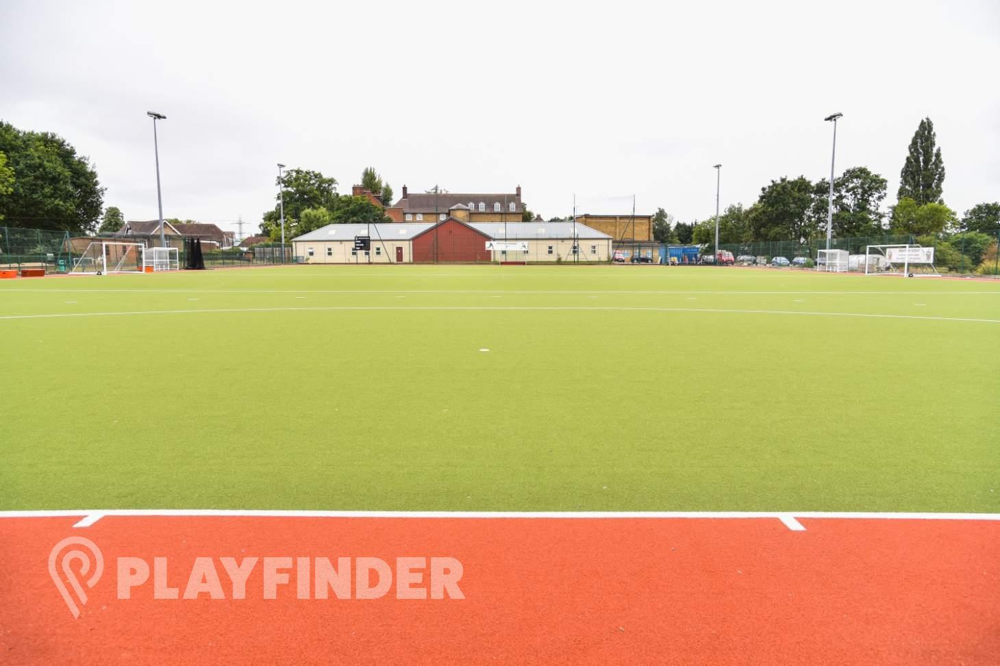 Aldenham School Sports Centre 9 a side   Astroturf football pitch